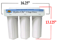 Hydro-Chi Filters with demensions